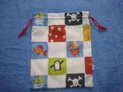 "Sac à doudou ""Petit pirate"""